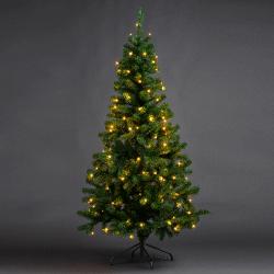 Joulukuusi LED-valoilla