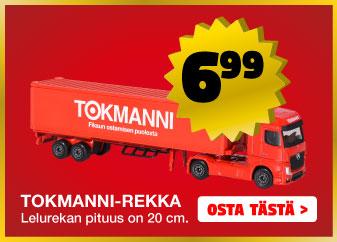 Tokmanni-rekka